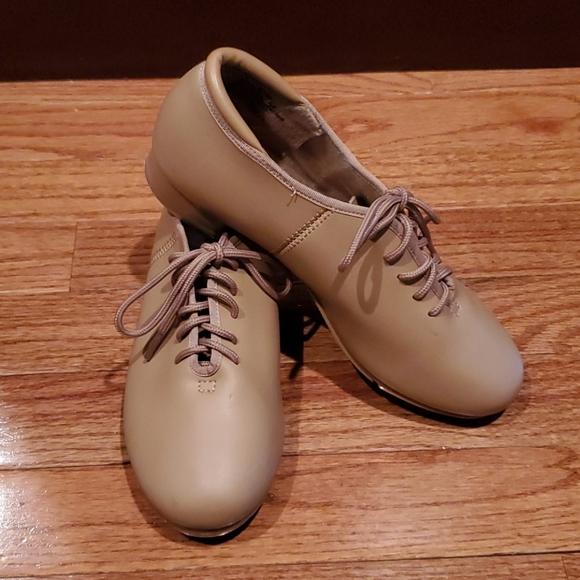 Girls balera tap shoes